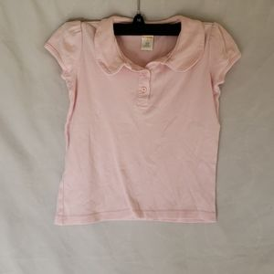 Gymboree girls light pink collared shirt size 8